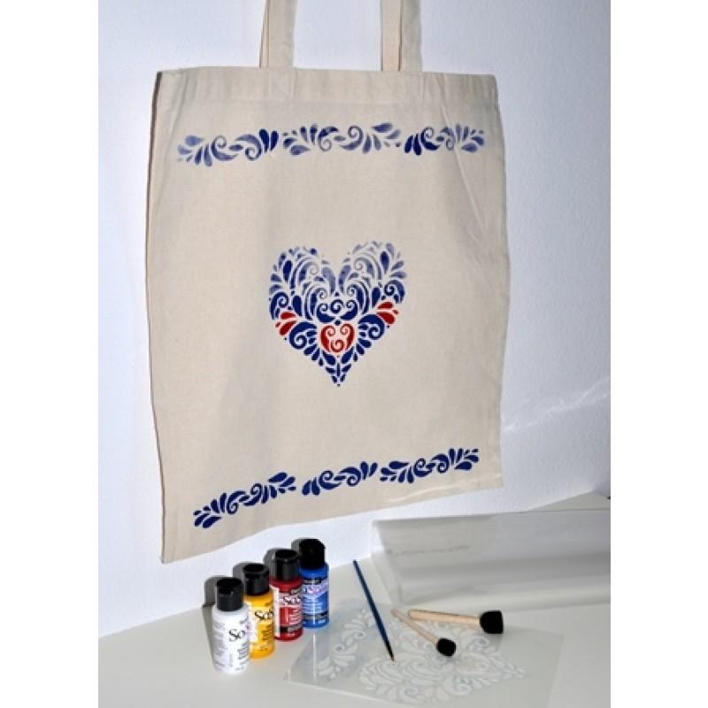 fd02af7e4c Kreatívna sada Maľovanie na textil Malá - Kreatívne sady s návodmi ...