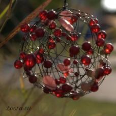 Kurz dekoračná drôtená guľa