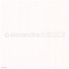 Vzorovaný papier A. Renke Mriežka ružová