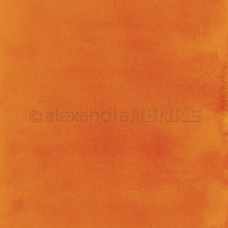 Vzorovaný papier A.Renke Akvarel Oranžová