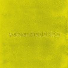 Vzorovaný papier A.Renke Akvarel Žltozelená