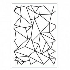 Embosovacia kapsa Graphic Lines