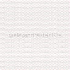 Vzorovaný papier A. Renke Kvietky sivé