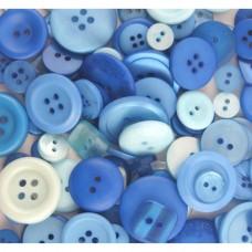 Gombíky Modrá