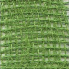 Jutová stuha Zelená