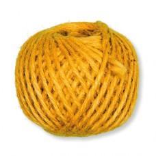Jutový špagát Žltá
