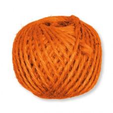 Jutový špagát Oranžová