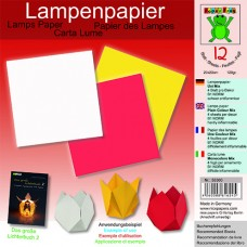 Papier na výrobu lámp 3 farby