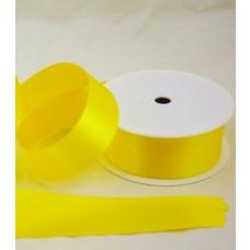 Saténová stuha 40 mm Žltá