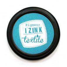 Razítkovacia poduška IZINK na textil Tyrkysová