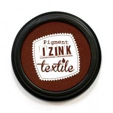 Razítkovacia poduška IZINK na textil Hnedá
