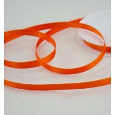 Saténová stuha 10 mm Oranžová