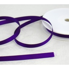 Saténová stuha 10 mm Fialová