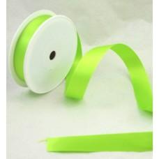 Saténová stuha 25 mm Zelená jasná