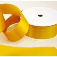 Saténová stuha 40 mm Žltozlatá