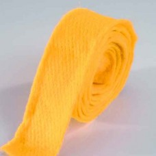 Vlnená stuha Žltá