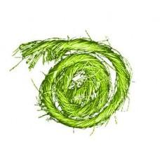 Sisal s drôtom Zelená svetlá