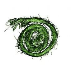 Sisal s drôtom Zelená tmavá