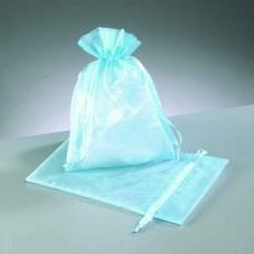 Darčekové vrecko - mešec Modrá svetlá