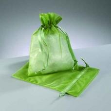 Darčekové vrecko - mešec Zelená