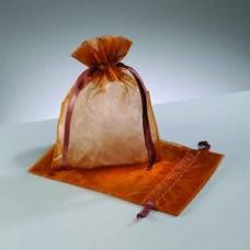 Darčekové vrecko - mešec Hnedá medená