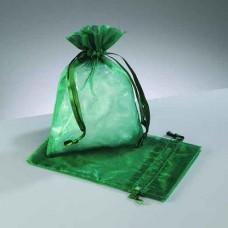 Darčekové vrecko - mešec Zelená tmavá