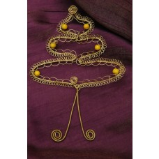 Drôtený Zlatý strom