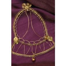 Drôtená ozdoba Zvon zlatý
