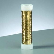 Drôt medený Mosadz (zlatá) 6 priemerov