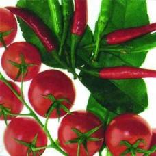 Servítka Paradajky a papriky