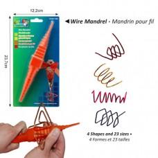 Pomôcka na tvarovanie drôtov / papiera na quilling 4 tvary