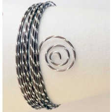Drôt s diamantovým efektom Hnedá čokoládová matná