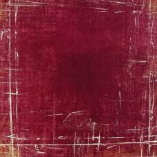 Vzorovaný papier Červená tmavá