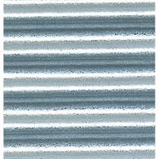 Vlnitý papier Hrubé vlny Strieborná