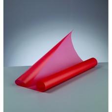 Transparentný papier Červená