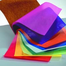 Transparentný papier Zmes farieb