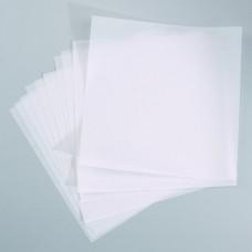 Transparentný papier Biely 30,5x30,5 cm