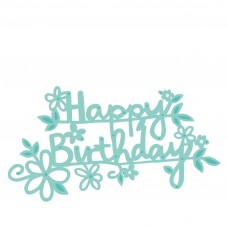 Kaisercraft Happy birthday - Šťastné narodeniny