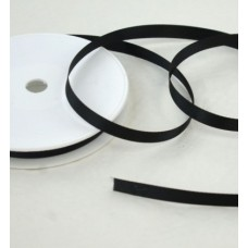 Saténová stuha 10 mm Čierna