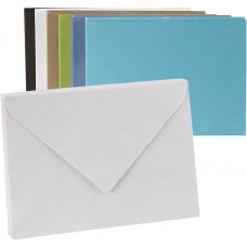 Farebné obálky embosované