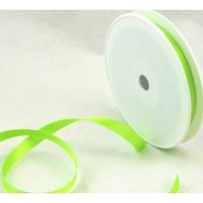 Saténová stuha 10 mm Zelená jasná