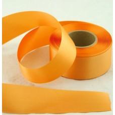 Saténová stuha 40 mm Oranžová