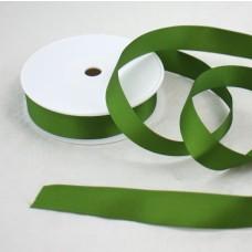 Saténová stuha 25 mm Zelená olivová