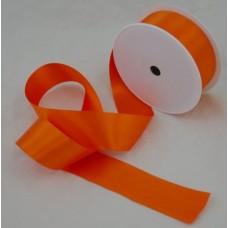 Saténová stuha 40 mm Oranžová tmavá