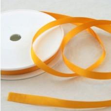 Saténová stuha 10 mm Žltá tmavá