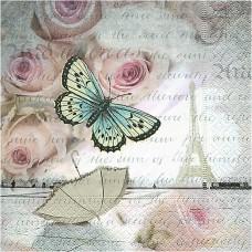 Servítka Motýle v Paríži