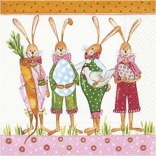 Servítka Veľkonočný zajac