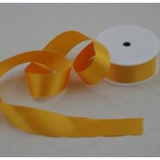 Saténová stuha 40 mm Žltá tmavá