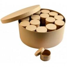 Papierová krabica Sada Kruh 48+1 ks