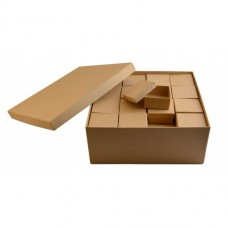 Papierová krabica Sada Štvorec 48+1 ks